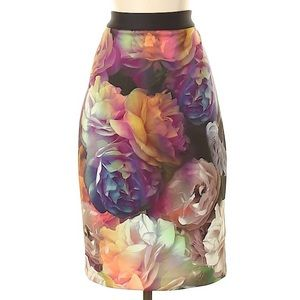 TED BAKER LONDON New NWT Pencil Skirt Floral 2